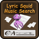 Lyric Squid Music Search Free icon