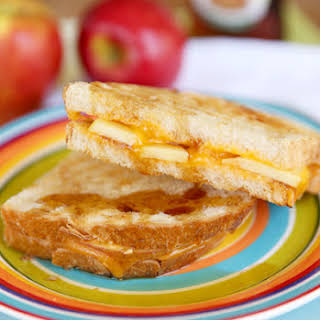 Apple-Cinnamon Grilled Cheese Sandwiches.