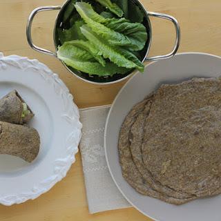 Pliable, Gluten-Free Chia Tortillas/Wraps.