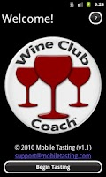 Screenshot of Wine Club Coach
