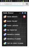 Screenshot of Audio Master Floating!