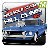 Hill Climb Muscle Cars 3d 2014