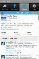Screenshot of Rádio Caicó AM 1290