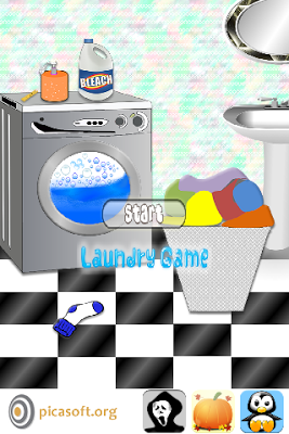 Laundry Games - screenshot