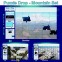 Puzzle Drop - Mountain Set icon