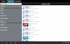 3 Planet Televizija App screenshot