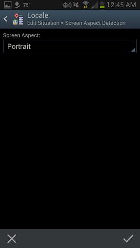 Screen Orientation Detection