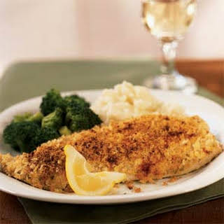 Mustard and Herb-Crusted Trout.