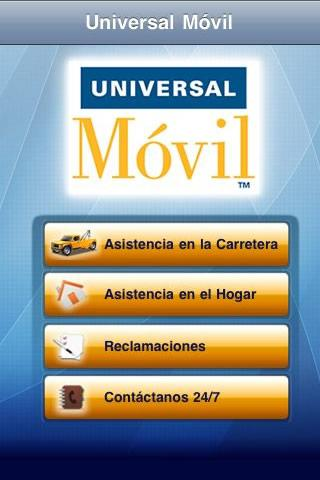 Universal Móvil - screenshot