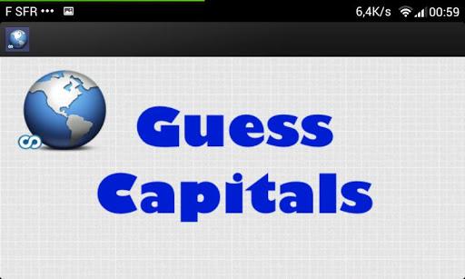 Free Guess Capitals