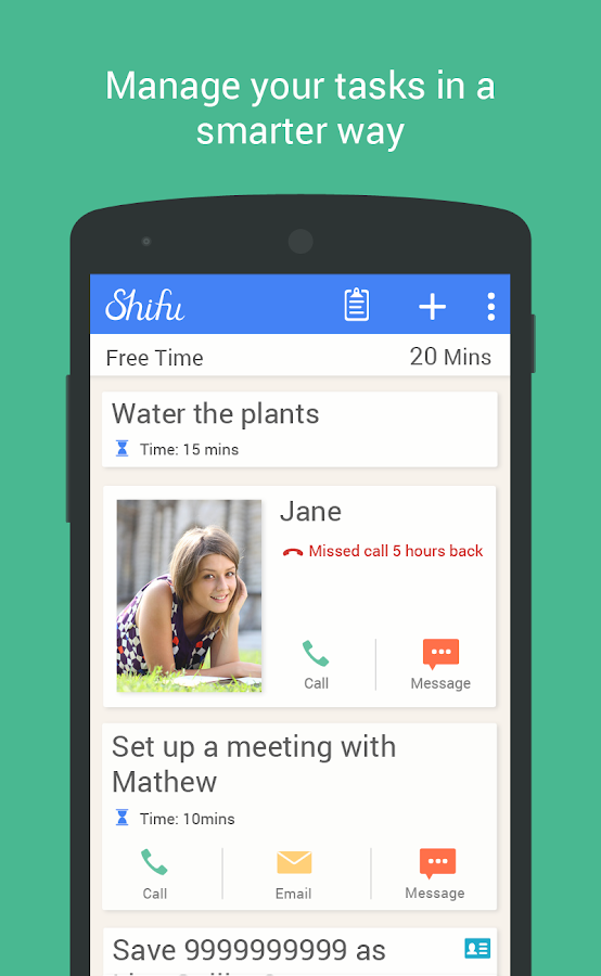 Shifu: To Do & Task Manager - screenshot