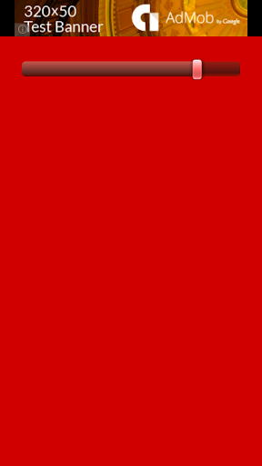 Red Screen Light