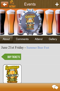 Detroit Craft Beer Month App - screenshot thumbnail