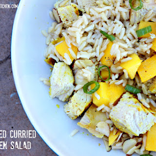 Tim's Grilled Curried Chicken Salad