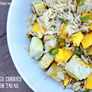 Tim's Grilled Curried Chicken Salad.