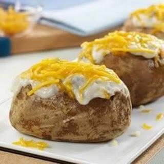 Cheesy Mushroom Potato Topper