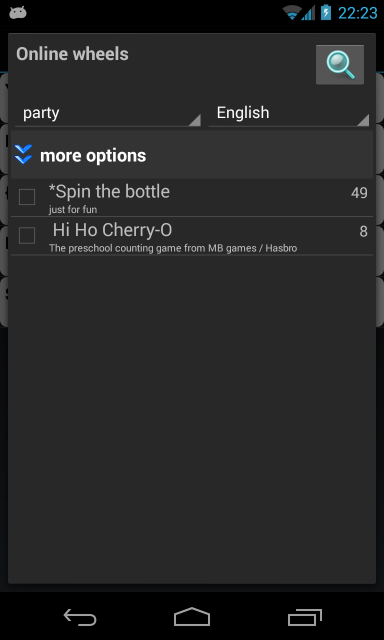 a Spinner, spin bottle (Free) - screenshot