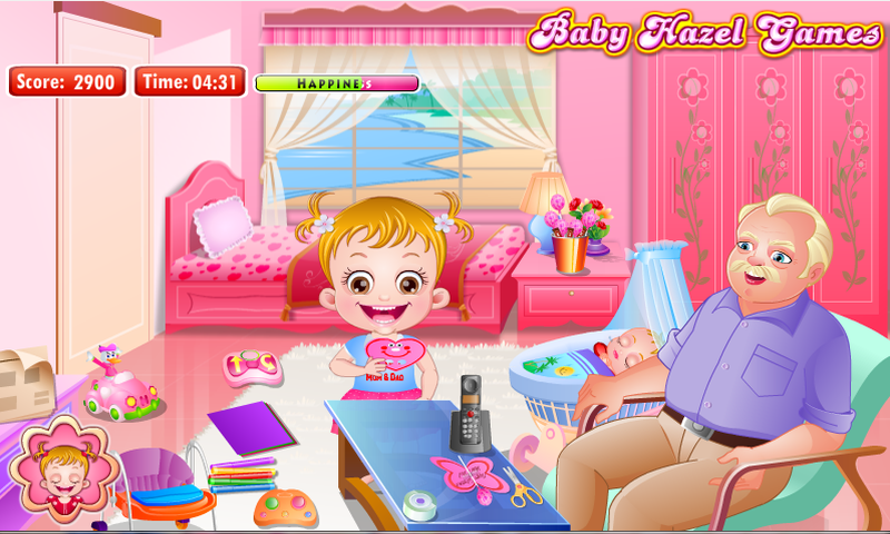 Baby Hazel Valentine Day - screenshot