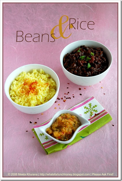 Black Bean Chilli (01) by MeetaK