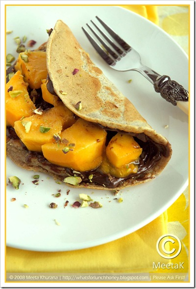 Mango Nutella Pancakes (03) by MeetaK