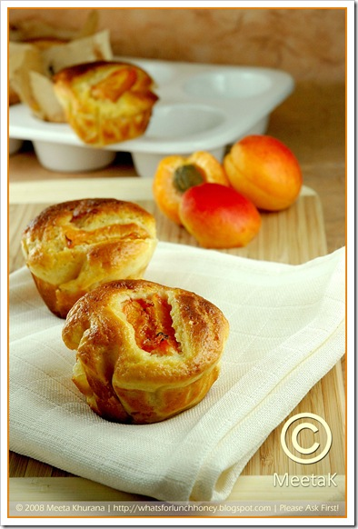 Apricot Olive Oil Cakes (02) by MeetaK