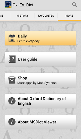 Oxford Dictionary of English T 4.3.136 screenshot 75235