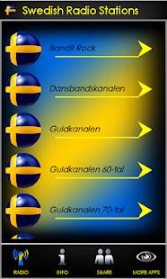 Swedish Radio Stations - náhled