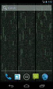 Matrix Stream Wallpaper Full- screenshot thumbnail