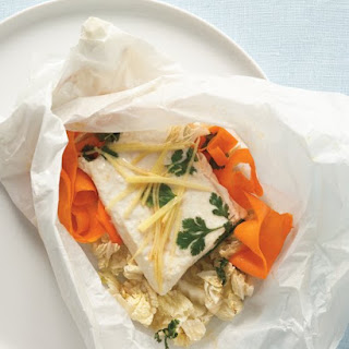 Halibut in Parchment