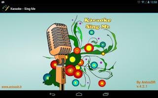 Screenshot of Karaoke - Sing Me (Free/Lite)