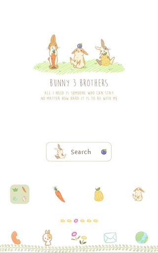 토끼 삼형제 도돌런처 테마