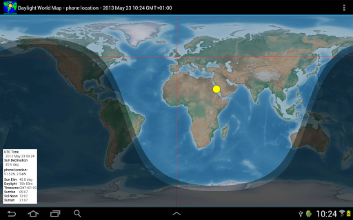 Daylight World Map   Apps on Google Play