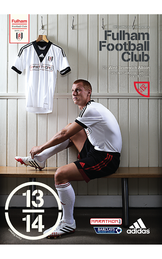 Fulham FC Programme - screenshot