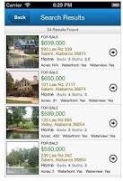Screenshot of LakeHouse.com Real Estate