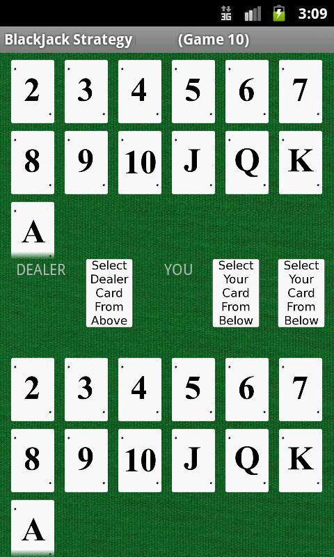 Blackjack strategy app