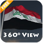 Real Iraq Flag Live Wallpaper