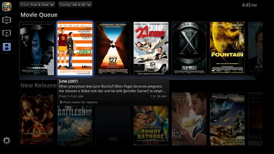 PrimeTime for Google TV - screenshot thumbnail
