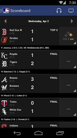 android MLB.com At Bat Screenshot 11
