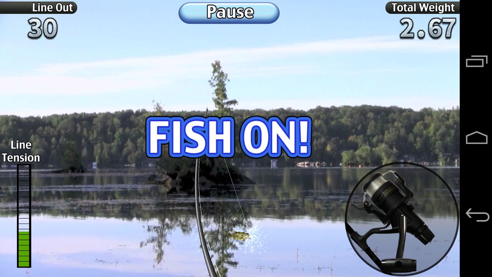I fishing 3 lite android apps on google play for Wsbtv fish and game