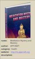 Screenshot of Meditation Mystery and Mastery