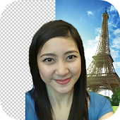 Paris Selfie Background