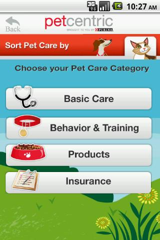 Petcentric - screenshot