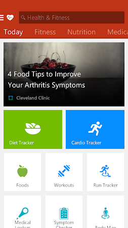 MSN Health & Fitness- Workouts 1.2.0 screenshot 18587
