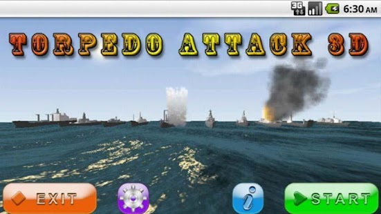 Torpedo Attack 3D Free - screenshot thumbnail