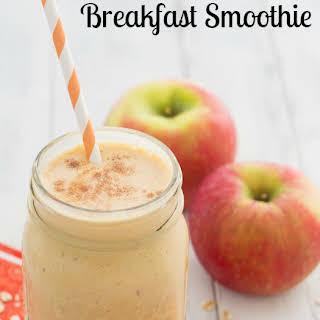 Pumpkin-Apple Breakfast Smoothie.
