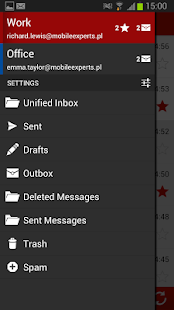 my Secure Mail - email client - screenshot thumbnail