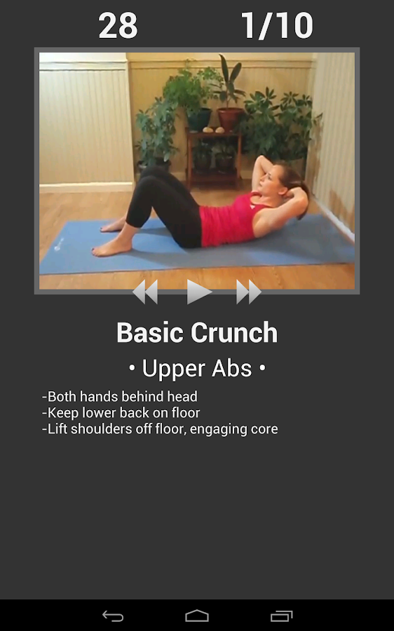 Daily Ab Workout FREE- screenshot
