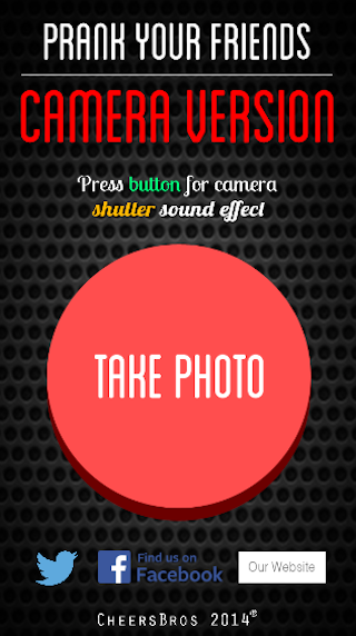 Camera Sound Prank App- screenshot