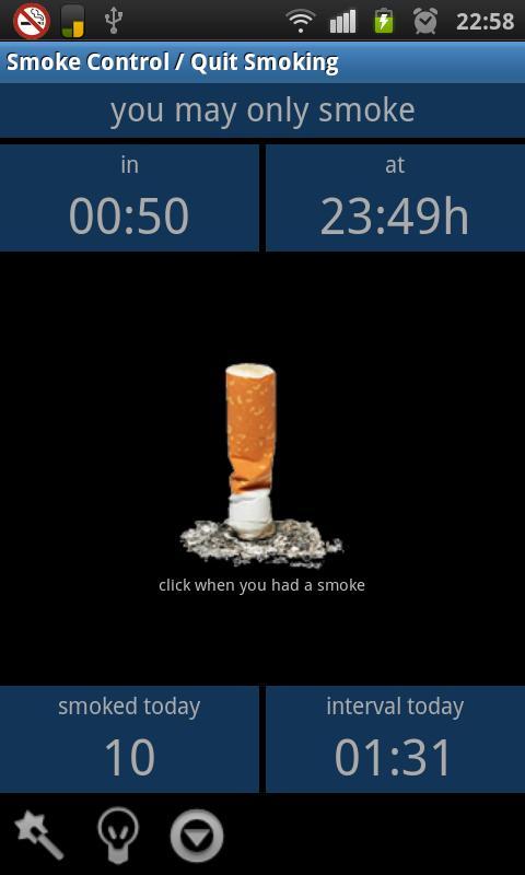 Smoke Control / Quit Smoking - screenshot