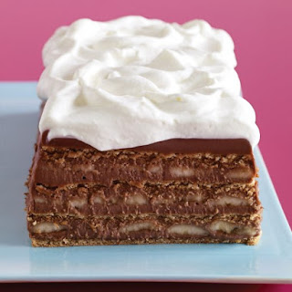 Chocolate, Banana, and Graham Cracker Icebox Cake Recipe